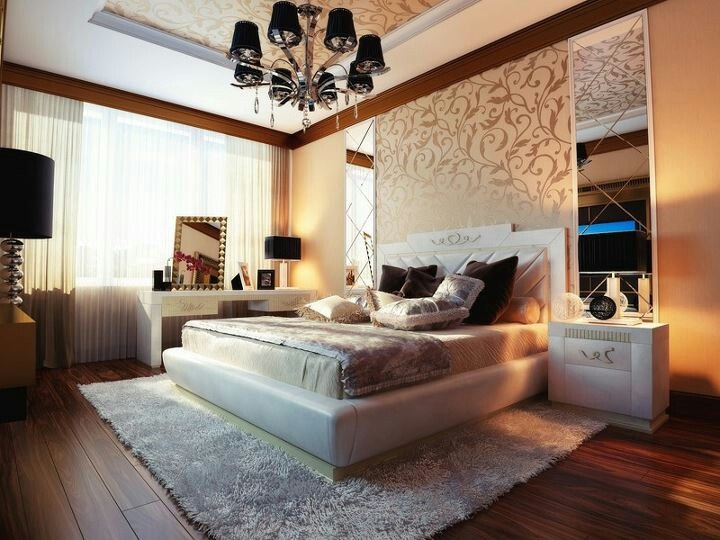 Modern baroque design modern baroque interior design for Luxurious master bedroom decorating ideas 2012