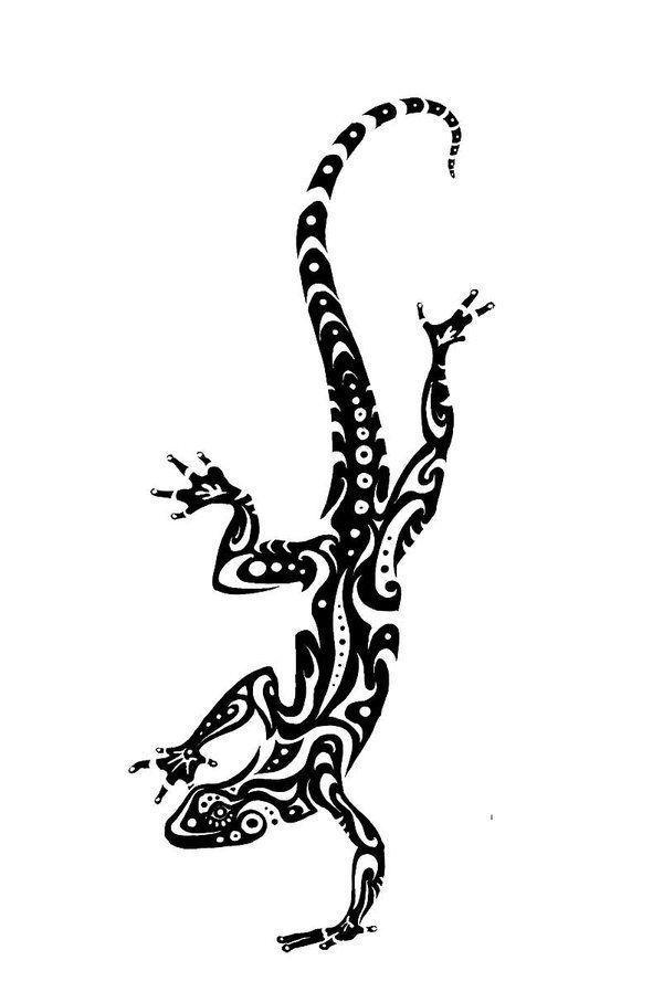 drawings of lizards | Lizard Tattoo Design pt. 2 by ~Tsairi on deviantART