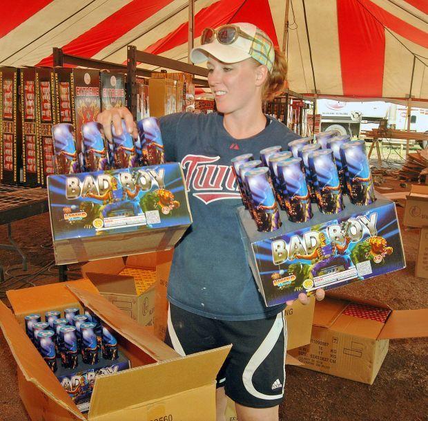 Fireworks sales start Friday