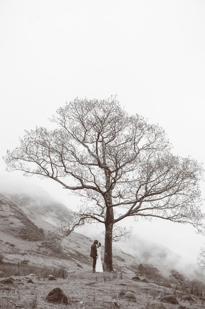 Atmospheric Lake District Wedding: Helen Andy