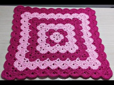 Tapete Rendado Redondo- Professora Simone #crochet - YouTube
