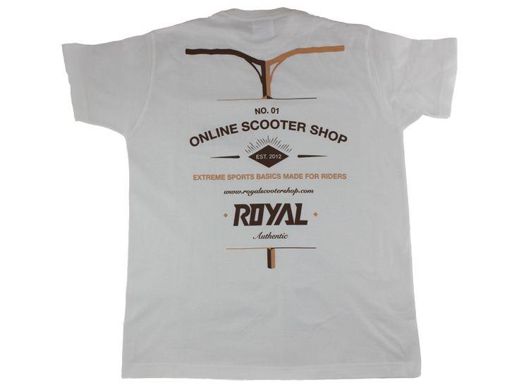 Camiseta Royal Blanca Varias Tallas