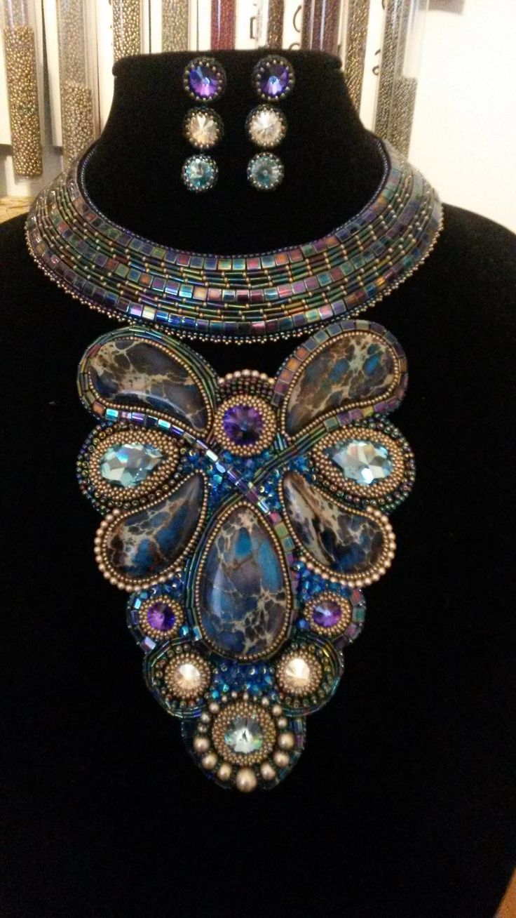 25 Best Ideas About Bead Embroidery Jewelry On Pinterest