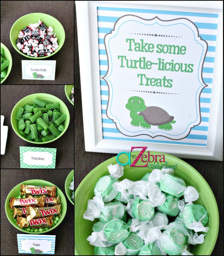 Turtle Baby Shower Ideas | A to Zebra Celebrations