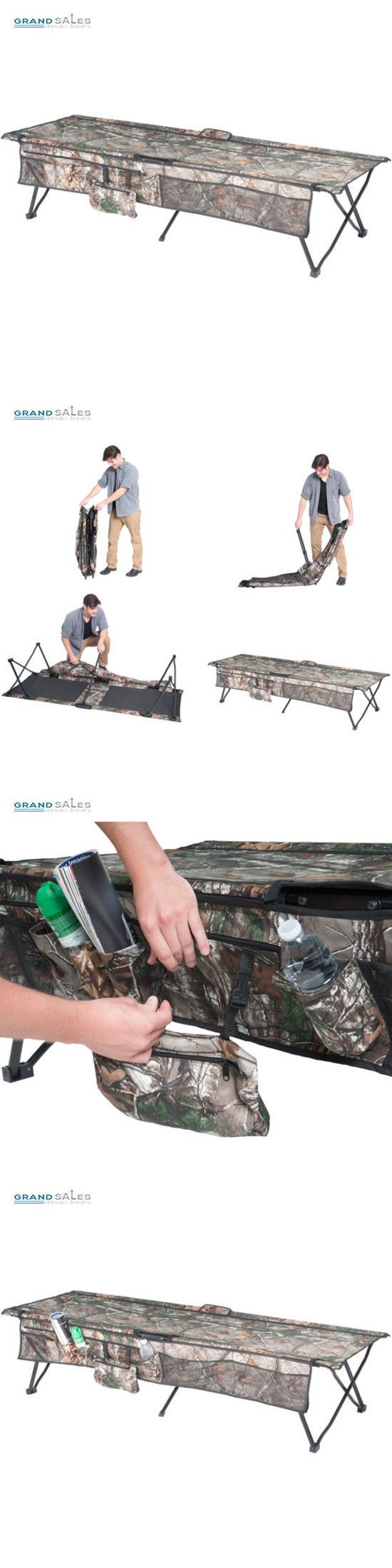Cots 87099: Camping Cots For Adults Outdoor Sleeping Gear Portable Cot Folding Hunting Bed -> BUY IT NOW ONLY: $54.6 on eBay!