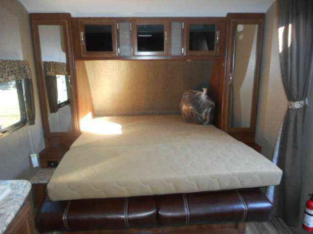 2016 New Keystone Passport Express 238ML Travel Trailer in Wisconsin WI.Recreational Vehicle, rv, 2016 Passport Express 238ML Front queen bed with rear bunks