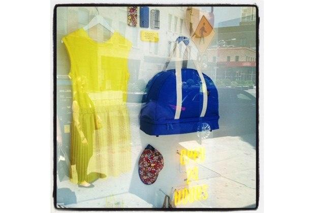 Kate Spade Window Shopping