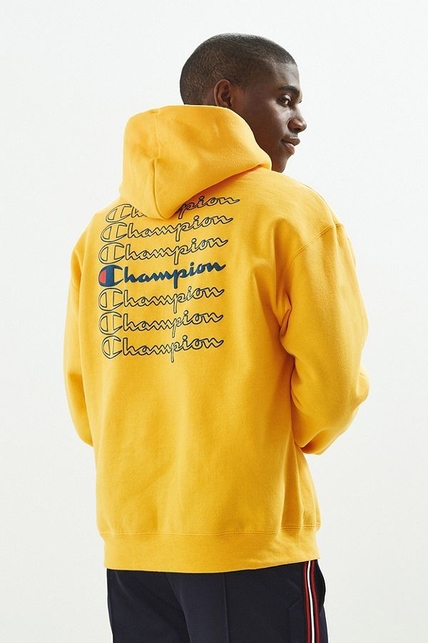 Champion Stacked Eco Hoodie Sweatshirt | Champion clothing