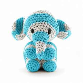 KIT MAXIGURUMI ELEFANTE RIBBON XL CR054K - Kit Amigurumis - DMC