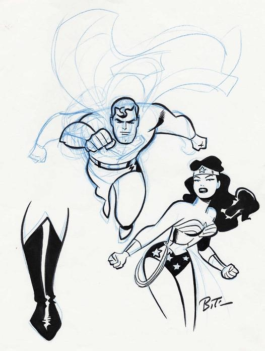 Bruce TimmBruce Timm Sketch, Comics Art, Favorite Artists, Art Adult, Wonder Women, Concept Art Sketches, Amazing Style, Timm Wonder, Superman Wonder Woman