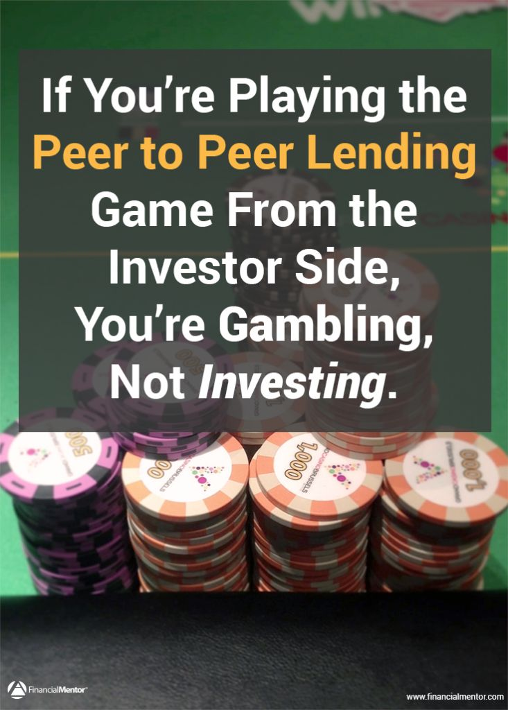 Does your investment strategy include peer-to-peer lending? Discover the shocking truth behind the claims made by these companies. Be careful of where you're investing your money!