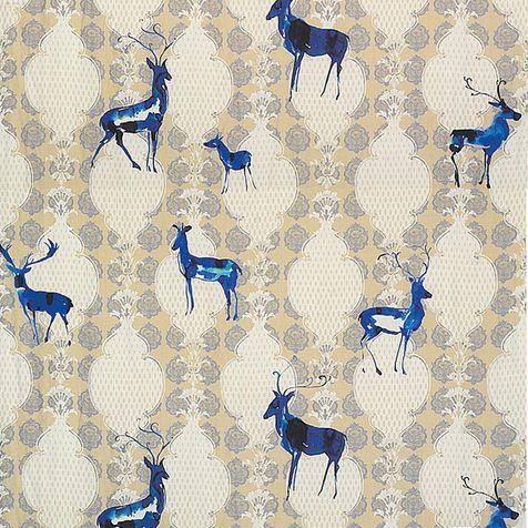 Ткань Chamonix, лен, Christian Fischbacher