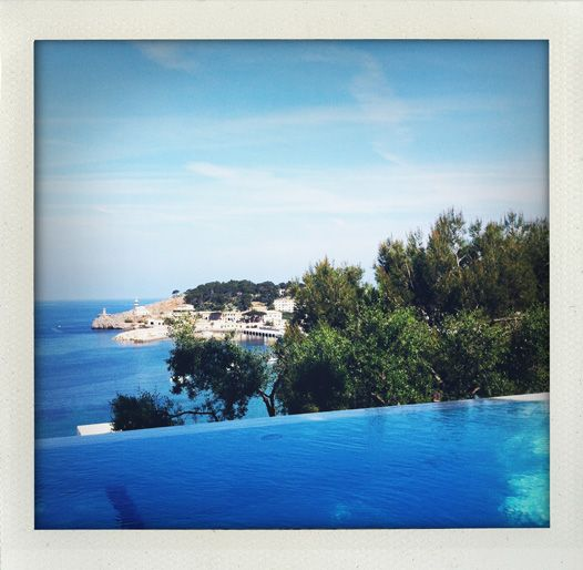 Room with a view (Espléndido Hotel, Mallorca, Spain).