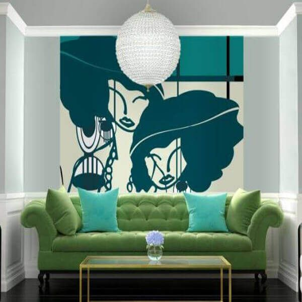 Custom wall decals great option for in store graphics and office decor variety of styles including large murals or even your own custom wallpaper