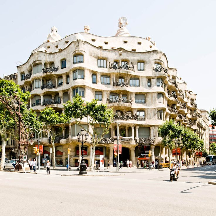 One of the most immpressive pieces of architecture I've had the pleasure of visiting. AD Classics: Casa Milà / Antoni Gaudí
