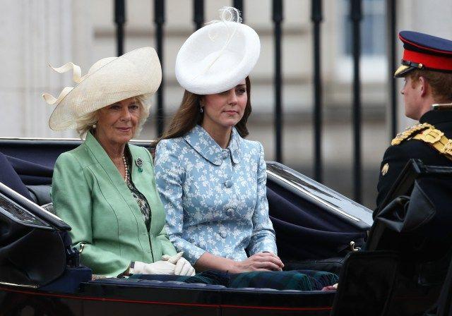 Kate Middleton Got on Camilla Parker Bowles's Nerves Photo (C) GETTY IMAGES