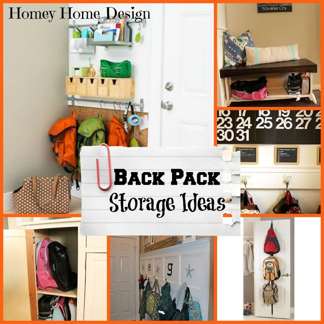 Image 2197 From Post Organizing Your Interior Decorating: Back To School Organization Part 2 Ideas For Backpack