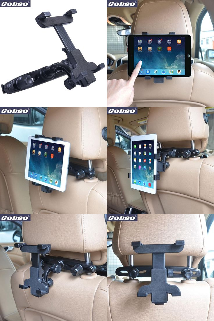 [Visit to Buy] 7 - 8 inch Cobao Car Back Seat Headrest Mount Holder for 7 8 inch small tablet  iPad mini 1/2/3 Tablet SAMSUNG Tablet PC Stands #Advertisement
