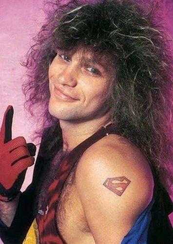 Jon S Superman Tattoo Bon Jovi Rocks Pinterest