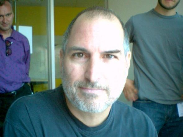 stevie goofing with Photo Booth ☺PRICELESS * #SteveJobs