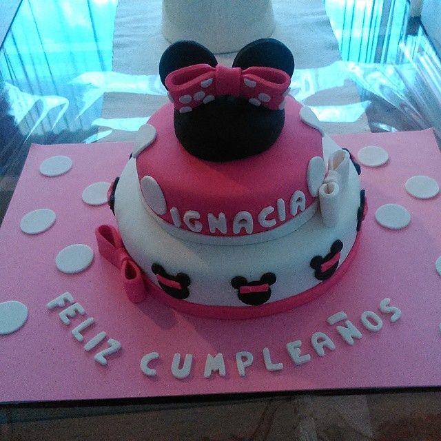 Torta Minnie 35 personas