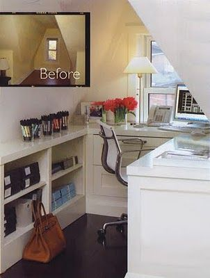 Best Use Of A Dormer Office Nook Spaces Pinterest
