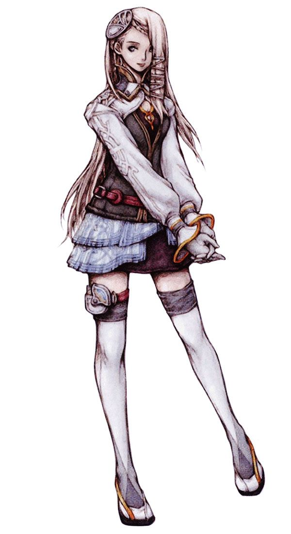 Week 13 - Final Fantasy XIII - Concept Art Mon - Palumpolum Girl