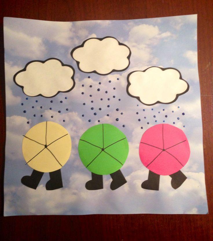 rain-boot art project