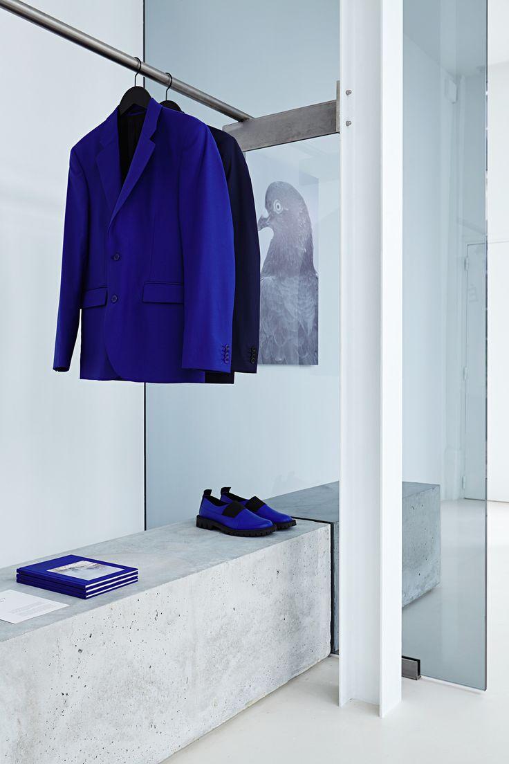 Tudes Studio Flagship Store Le Marais Paris Retail InteriorElectric BlueCloset SpaceStore DesignRetail