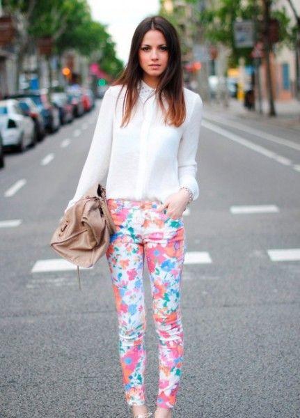 Looks com calça estampada – Dicas de como usar, saiba onde comprar – Calças estampadas