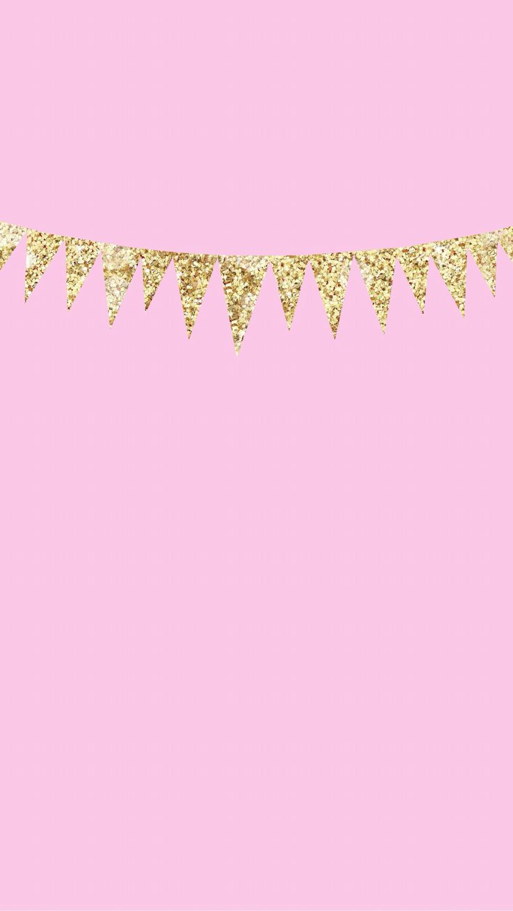 IPhone 6 Plus Minimal Lock Screen Wallpaper Pink With Gold Glitter