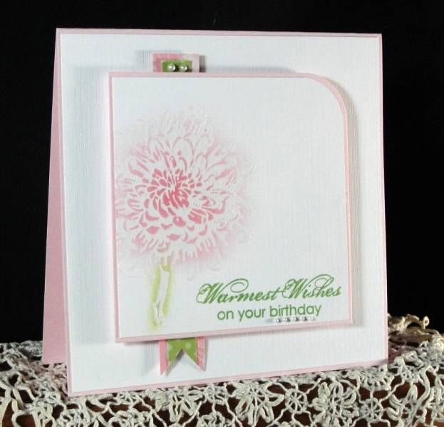 Blooming with Kindness for Queen Mary: Cards Ideas, Cards Bloom, Cards Tips, Cards Gener, Cards Round Corner, Birthday Cards, Cards Tags, Cards Stamps N, Beatiful Cards