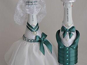 Tina's handicraft : decoration wedding BOTTLE -- photo tutorial