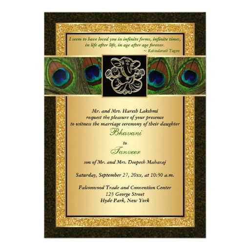 250 best Hindu Wedding Invitations images on Pinterest