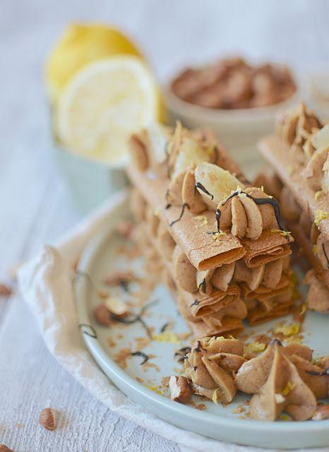 Par faim d'arômes: Mille-feuille Gavottes® praliné citron {Battle foo...
