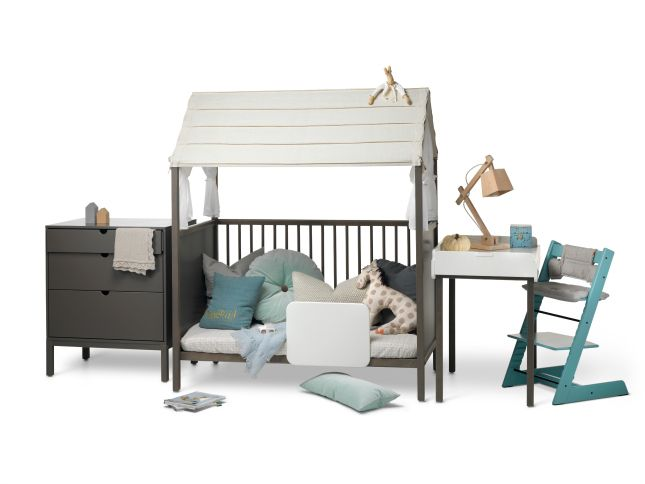 stokke home kinderkamer Hazy Grey