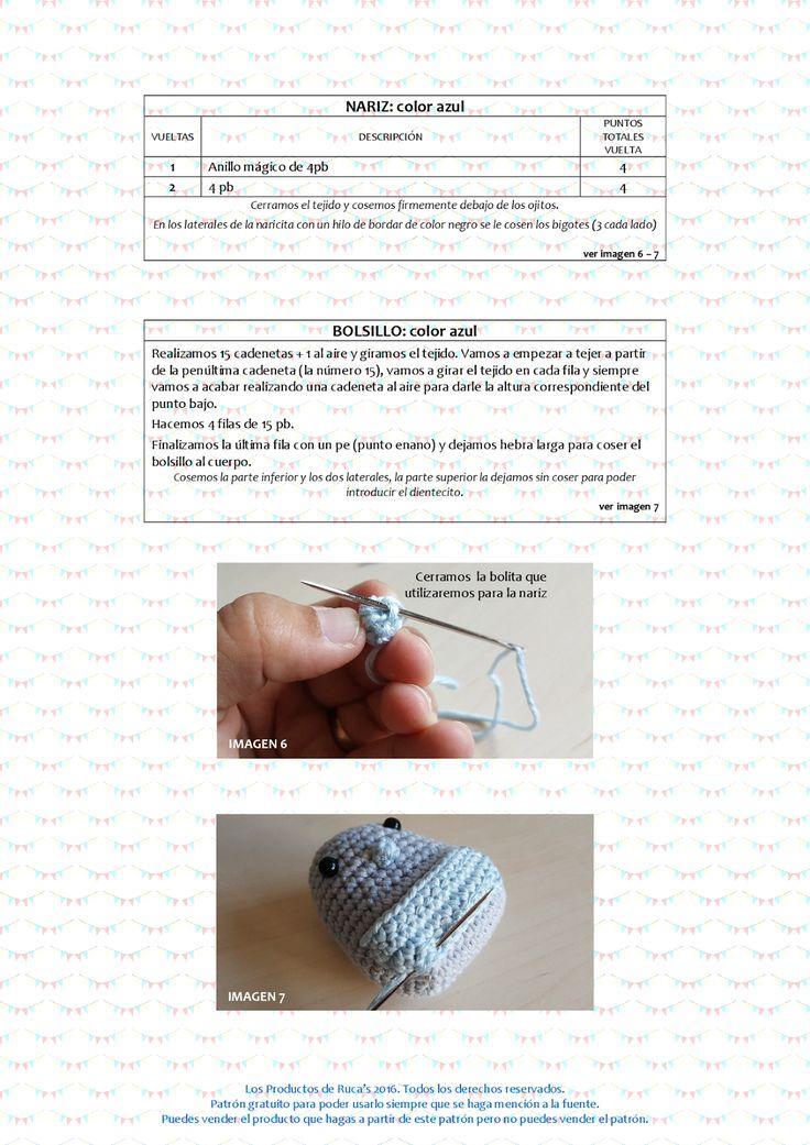 215 best amigurumis favoritos images on Pinterest | Crochet dolls ...