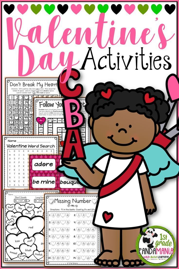 This Valentine's Day Activities Pack has everything you need to supplement your math and literacy lessons and celebrate Valentine's Day at the same time! Use for centers, morning work, etc. Make a cute Valentine's Day card Flip Book for parents. Lots of lined writing paper for various writing levels included as well. Just print and go!