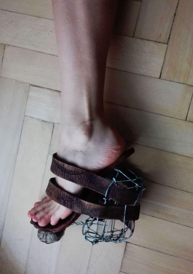 insane  conceptual shoe  by Helena Kolníková