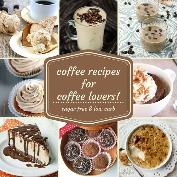 21 Low Carb, Sugar-Free Coffee Desserts for Coffee Lovers!