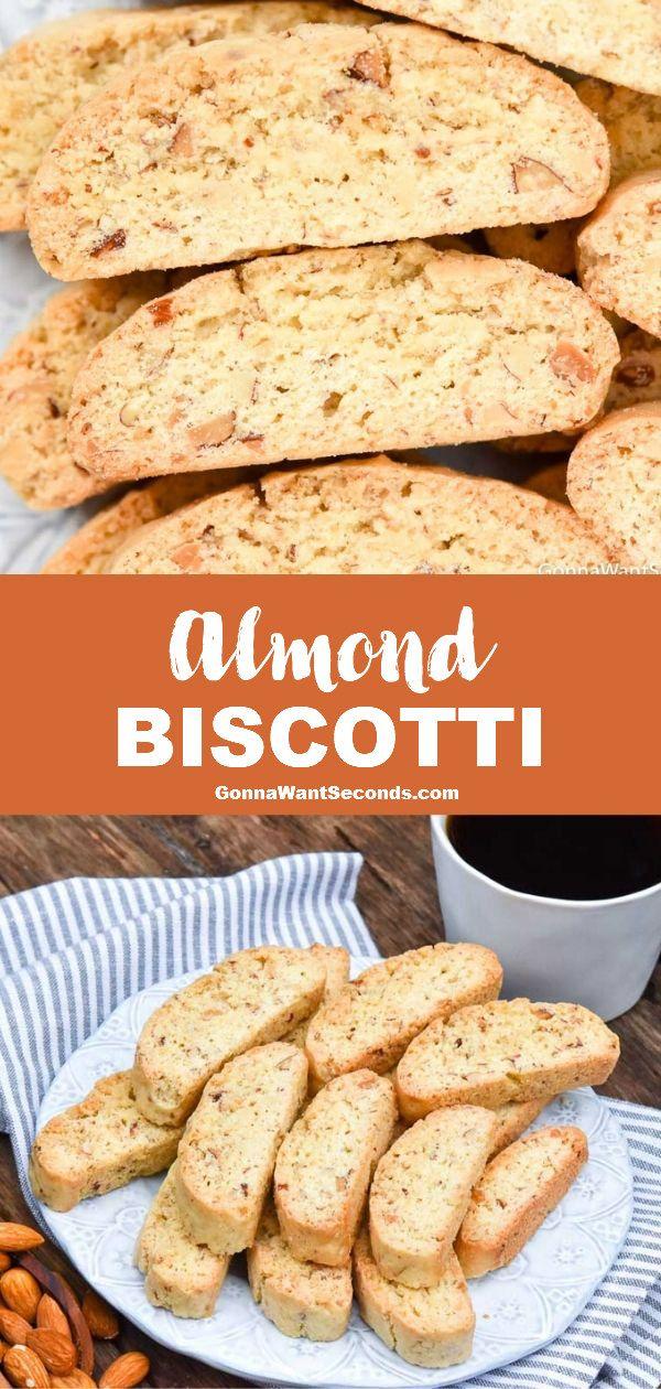 Almond Biscotti Recipe Crispy Dunkable Recipe Biscotti Recipe Almond Biscotti Recipe Almond Biscotti
