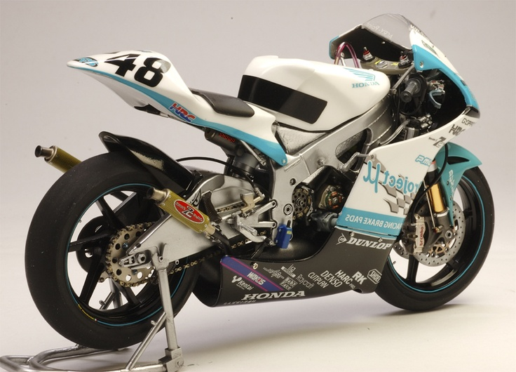 Honda RS 250 RW Team Project μFRS.7C S.Tomizawa 2008 All Japan Road Race Championship by Utage Factory House (Hasegawa)