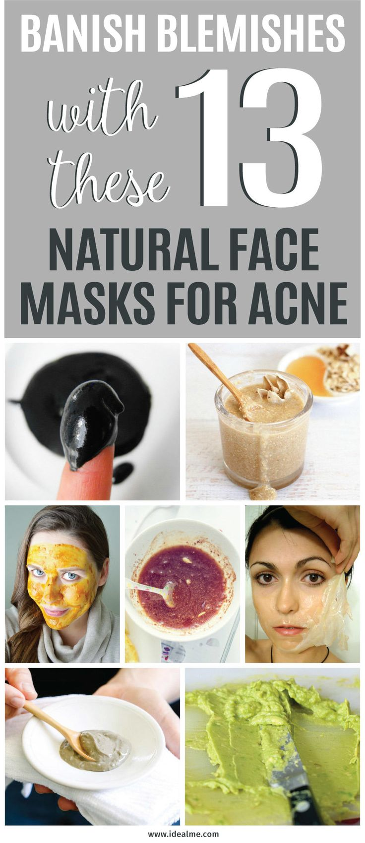 If you're tired of looking in the mirror and seeing problem skin, banish blemishes with these 13 natural face masks for acne.