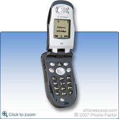 Nextel phone: Motorola i90c (2001)