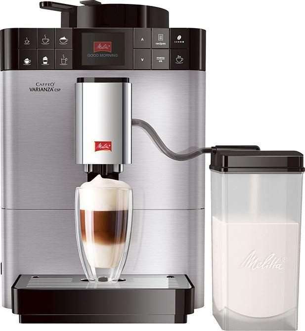 Melitta Caffeo Varianza CSP STT  Melitta Caffeo Varianza CSP STT: Innovatieve koffiemachine met onbeperkte variatie De Melitta Caffeo Varianza CSP is klaar voor al jouw koffie-eisen. Je maakt moeiteloos de ene koffiespecialiteit na de andere. Je lijkt wel een professionele barista! Dankzij het originele bereidingsproces de juiste volgorde van melk en koffie aanhouden zijn al jouw latte macchiato's prachtig om te zien. Je kunt er voor kiezen om per kopje andere bonen aan de Caffeo Varianza…