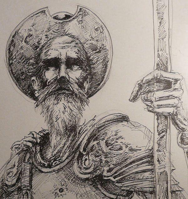 La Sombra de Don Quijote # graphic novel on Behance