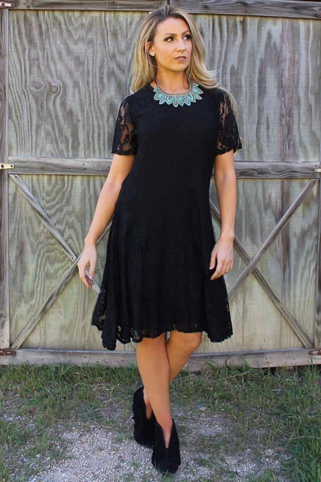 Lb Black Lace Dress Plus Size New Arrivals Lace Dress Black