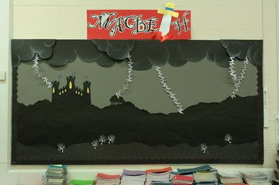 Macbeth Display, class display, play, theater, Shakespeare, William Shakespeare, witches, tragedies, trouble,Early Years (EYFS), KS1& KS2 Primary Resources