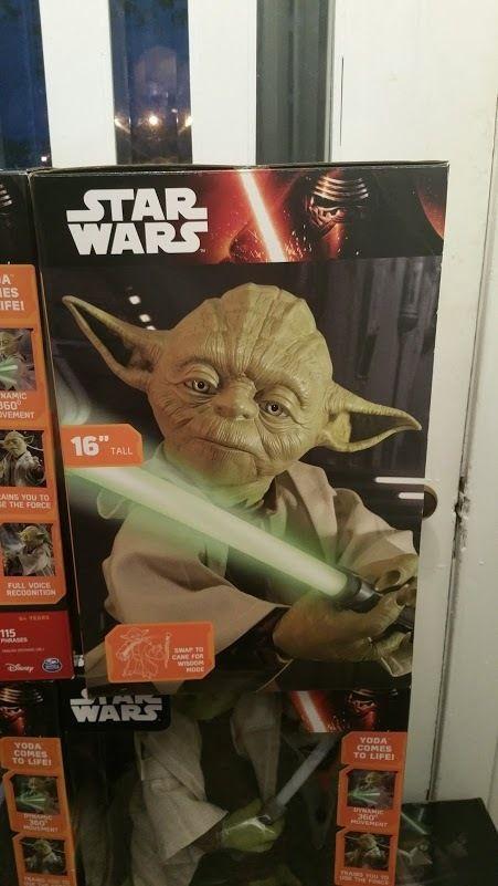 Star Wars Legendary Yoda Jedi Master Interactive Talking Figure Lights & Sounds #ThinkwayToys