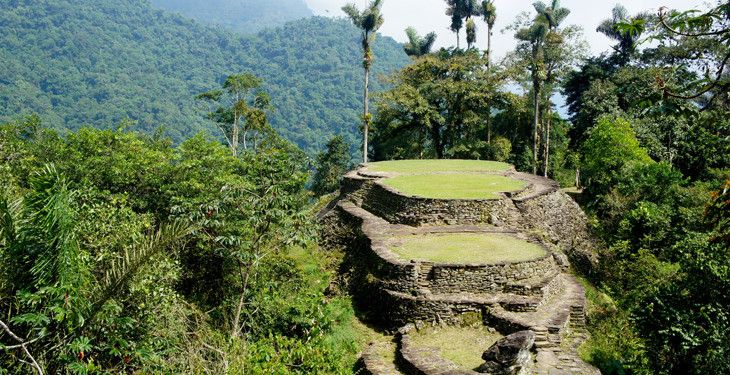 | The Clymb    THE CLYMB COLOMBIA TREK TO THE ANCIENT LOST CITY Ends in 5 Days Trek to the mysterious, jungle-shrouded ruins of the Lost City, nestled in Colombia's rugged Sierra Nevada mountains. Experience lively Bogotá, Caribbean-side Santa Marta, and the indigenous village of M